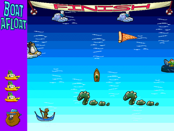 Image of Boat Afloat.