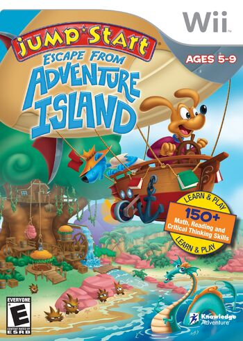 Image of JumpStart Escape from Adventure Island.