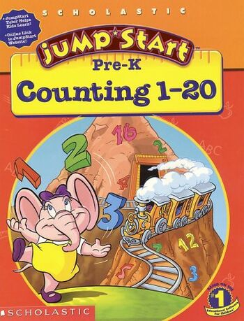 Image of JumpStart Pre-K Counting 1-20.