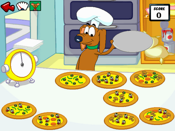 Image of The Pizza Picker Game.