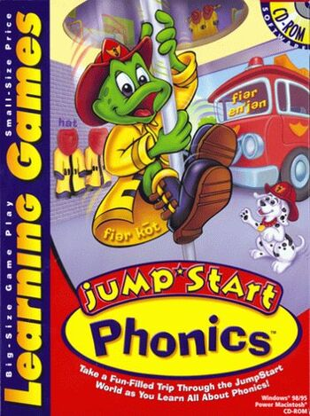 Image of JumpStart Learning Games: Phonics.