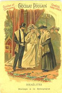 1905ChocolatPoulainWedding