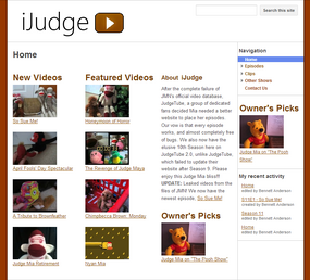 IJudge Site Cover