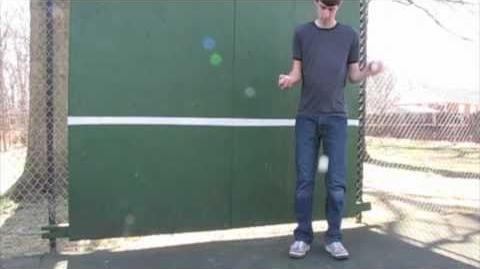 Five-ball double bounce IJA YouTube Tutorial Contest