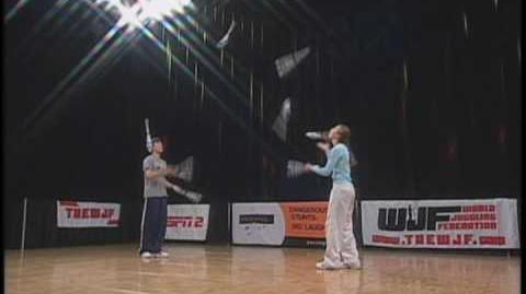 Olga & Vova Galchenko 2004 WJF 7 Club Competition Routine