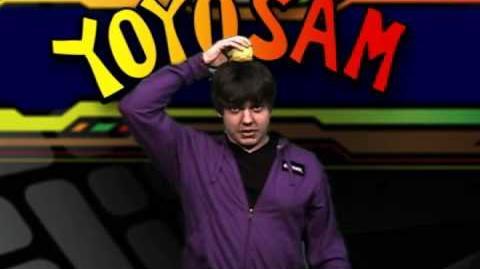 YoYoSam Tutorial Three Ball Head Roll Juggling Trick