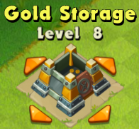Gold Storage Lvl 8