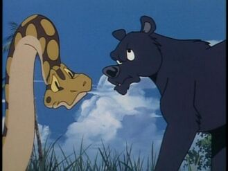 Bagheera and Kaa