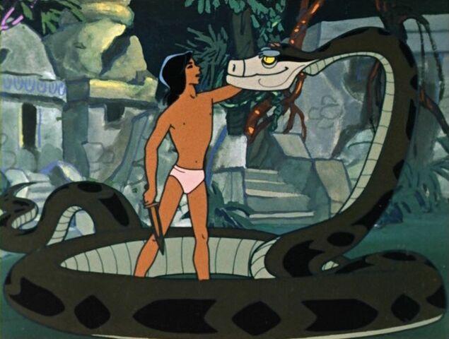 File:Mowgli and Kaa (Maugli).jpg