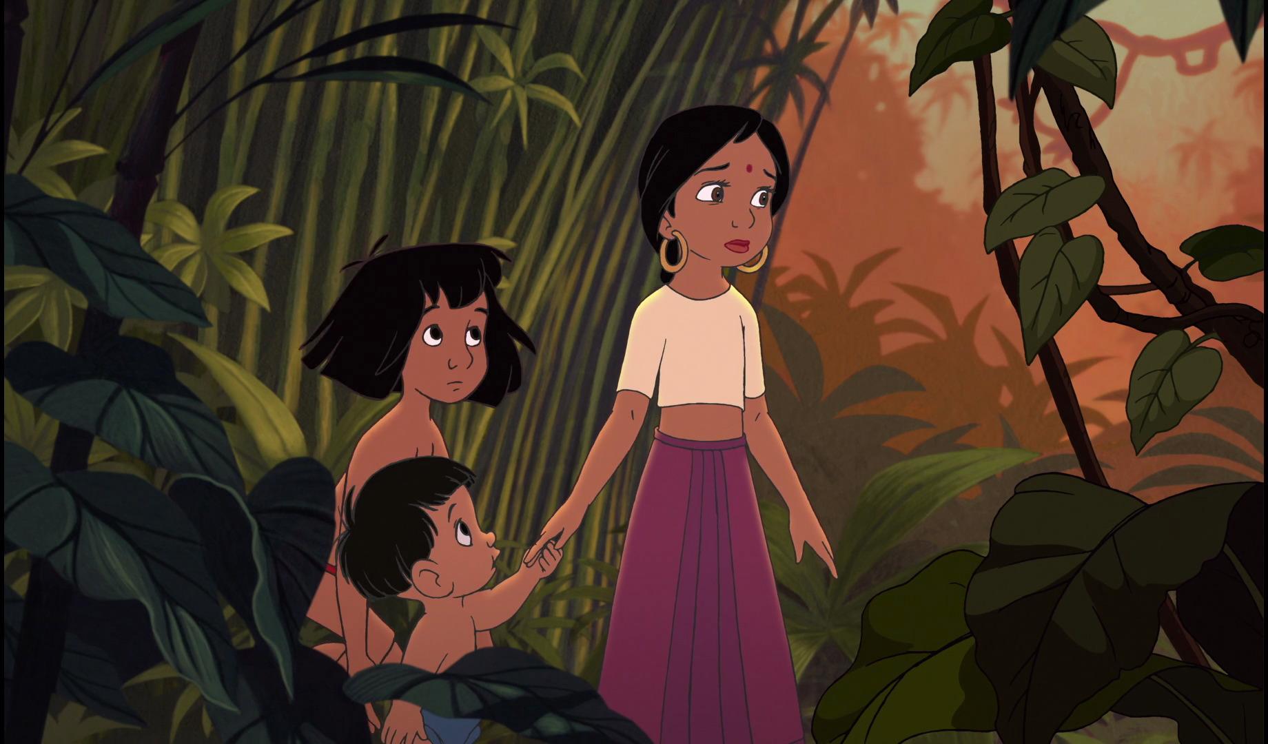 Shanti and Mowgli  Jungle book 2  Disney Couples