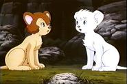 Kimba Talking with Rya