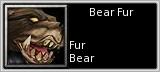 Bear Fur quick short