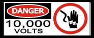 Juassic park sign 10 000 volts by oryx gazella-d36v0yp