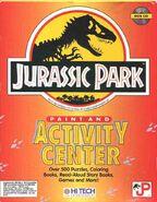 Jurassic Park Paint and Activity Center front