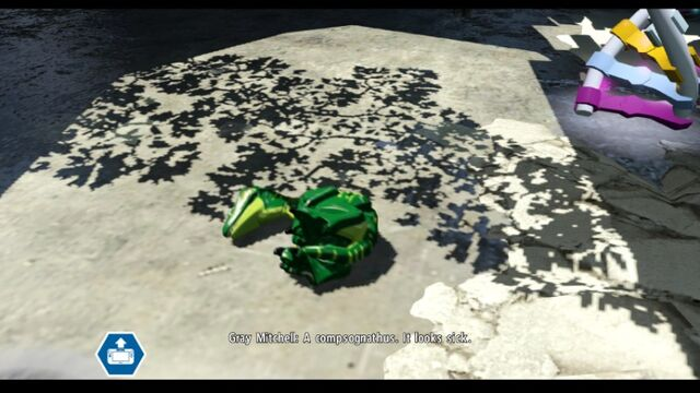 File:LEGO Jurassic World Parking Garage Level Sick Compy 1 MlWA77ypJ0ks-D d4U.jpg