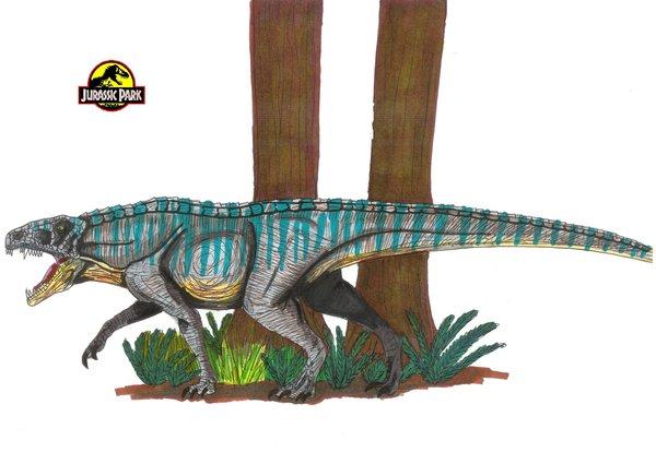 File:Jurassic Park Ornithosuchus by hellraptor.jpg