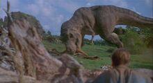 Tyrannosaurus Eating-1-
