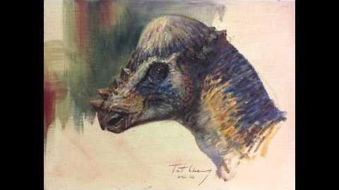 Jurassic Park - Pachycephalosaurus Sound Effects HD