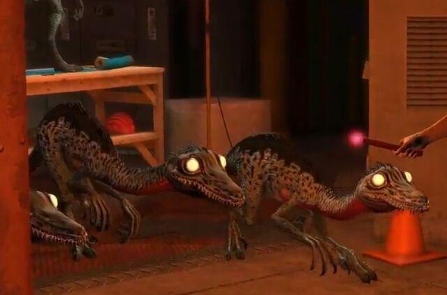 File:Jurassic Park the Game Troodons.jpg