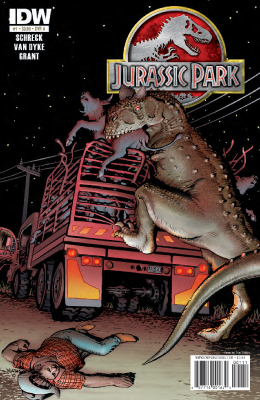 Archivo:JURASSIC PARK REDEMPTION 01 cover.jpg
