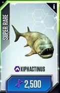 Xiphactinus | Jurassic Park wiki | FANDOM powered by Wikia Xiphactinus Jurassic Park Builder