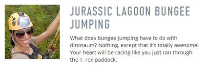Jurassic Lagoon Bungee Jumping