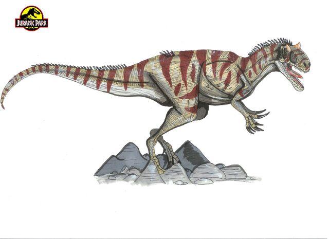 File:Jurassic Park Allosaurus by hellraptor.jpg
