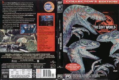 Jurassic park 2 cover