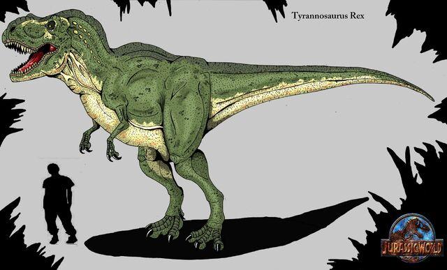 File:Jurassic world tyrannosaurus rex by hellraptor-d7yk47d.jpg