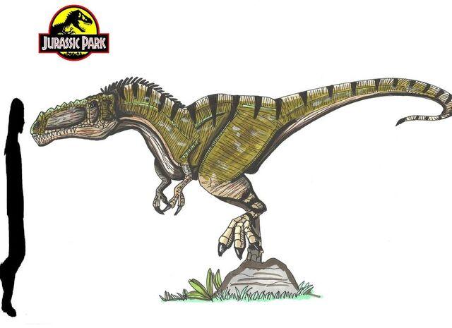 File:Jurassic Park Alioramus by hellraptor.jpg