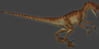 The Lost World: Jurassic Park (video game)/Velociraptor level