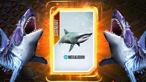 Megalodon Deep Sea Monsters Lengendary Pack Is Here - Jurassic World The Game