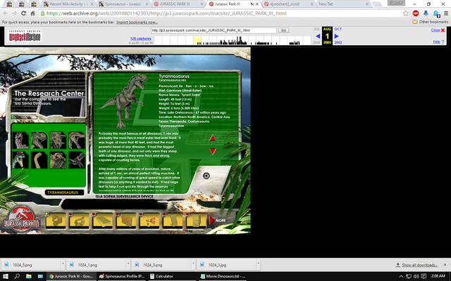 File:Tyrannosaurus Rex Profile JP3.png