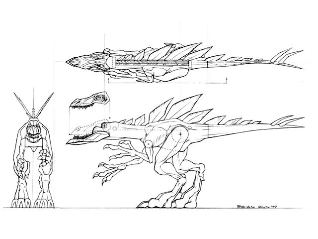 File:Chaos Genesis Compsognathus + Stegosaurus + African Tree Frog.jpg