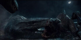 Jurassic world death of the abomination by tyrannuss555-d8x8nk4