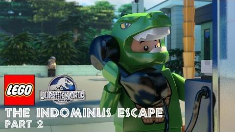 Part 2 LEGO® Jurassic World The Indominus Escape