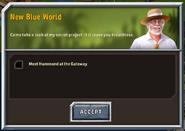 New blue World