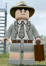 Lego Jurassic World Video Game Donald Gennaro