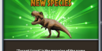 Tyrannosaurus rex/Builder