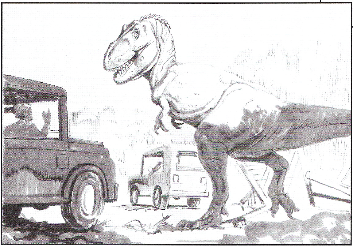 Carnotaurus coloring pages az coloring pages - Jurassic Park Tyrannosaurus Rex Animatronics Jurassic Park Wiki