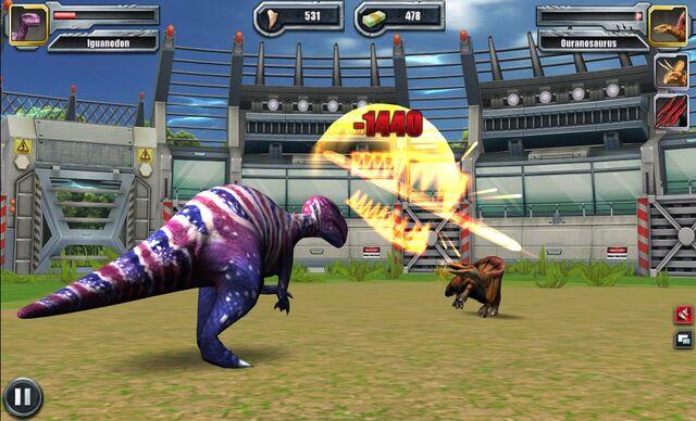File:Jurassic Park Builder Battle Arena Ouranosaurus14 Nov. 03, 2015.jpg