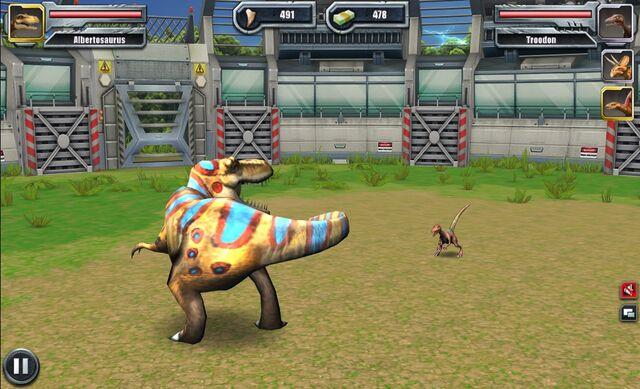 File:Jurassic Park Builder Battle Arena Albertosaurus1619 Nov. 03, 2015.jpg