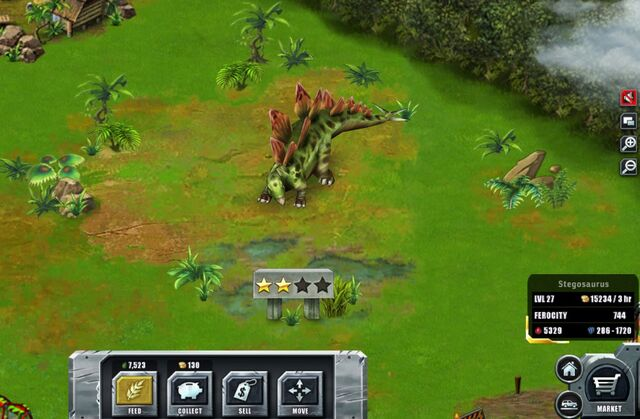 File:Jurassic Park Builder Game Pictures Dinosaurs Stegosaurus Levels 27.jpg