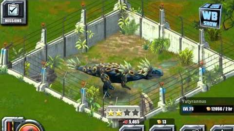 Jurassic Park Builder - Yutyrannus Jurassic Park Limited