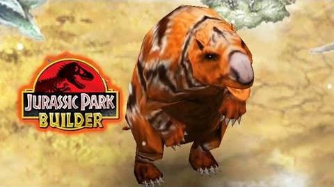 Jurassic Park Builder - Diprotodon Glacier Park