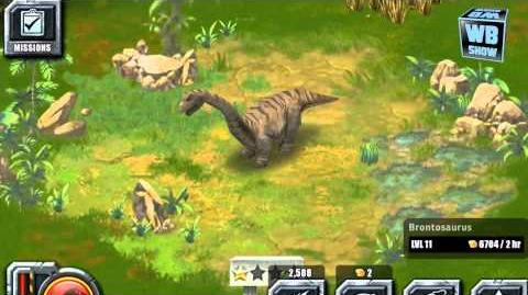 Jurassic Park Builder - Brontosaurus Jurassic Park
