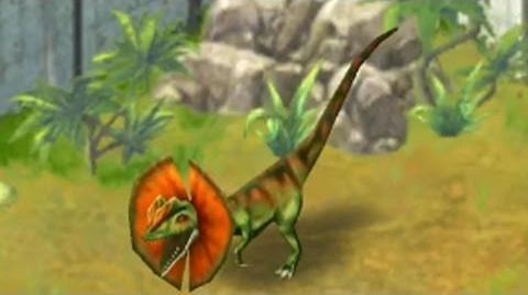 Jurassic Park Builder - Dilophosaurus Jurassic Park