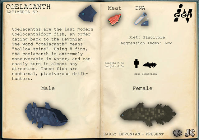File:Ingen file coelacanth by jurassicraftmod-dai1nc6.png