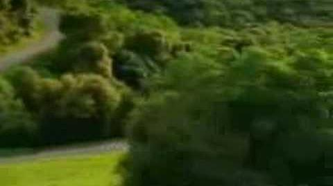 Ghostly car commercial
