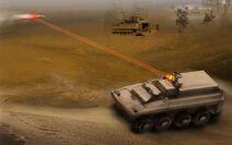 URGA LZ-203 Solid State Laser Platform